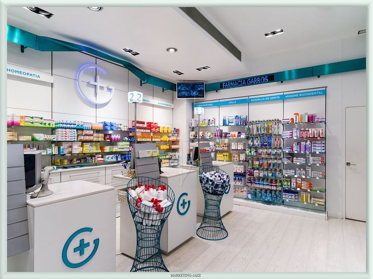 Diseño de farmacias por Marketing-Jazz - Farmacia Garrós