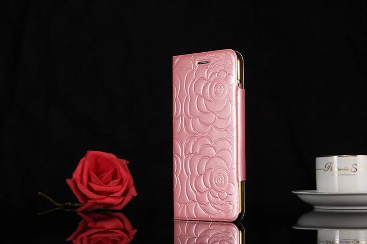 手帳iphone8/7s/6s カバー ブランド超薄いシャネルiPhone7/7PLUSケースChanelアイフォン7s/8/7プラスかわいいエンボス加工エナメル革高質スマホケース女子向けツバキ椿の花