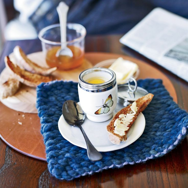 These baked eggs topped with melted butter are Piero Incisa della Rocchetta's go-to breakfast.