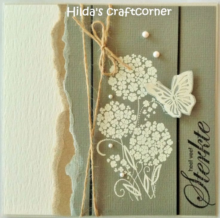 Hilda's craftcorner: 'Sterkte'