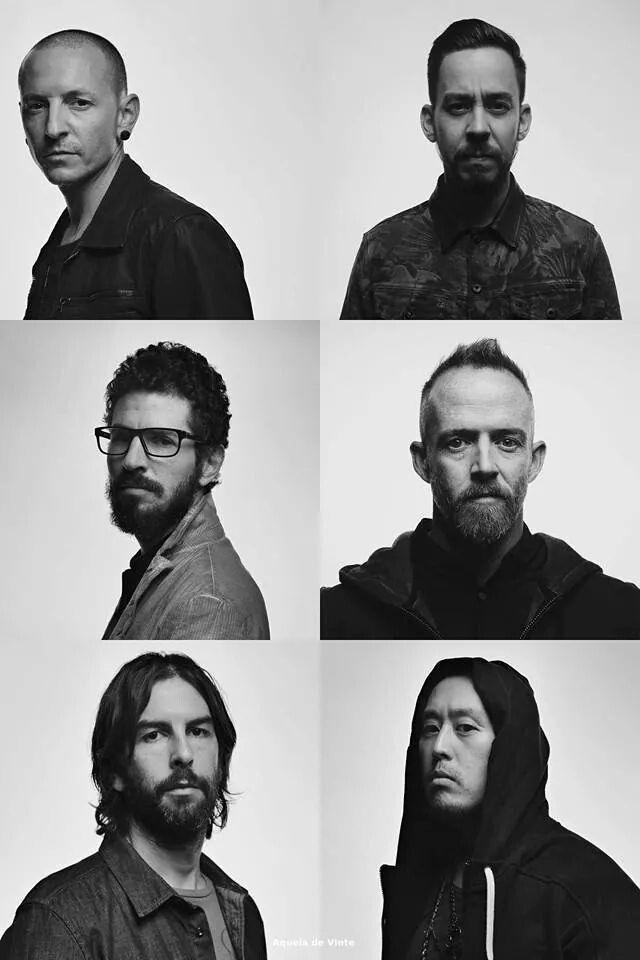 Chazzy Ches, Spike Minoda, Big Bad Brad, Phoenix, Rob and Mr Hahn Linkin Park