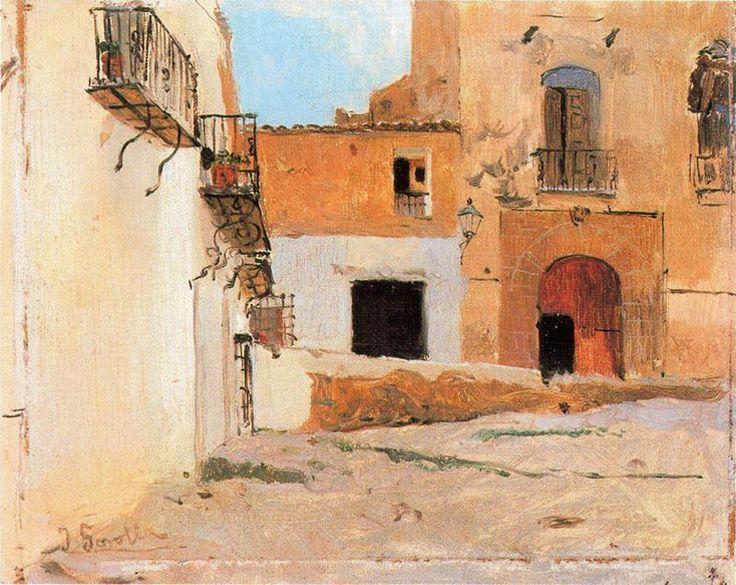 Joaquín Sorolla - Plaza
