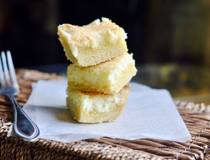 Chess bar recipe without cake mix