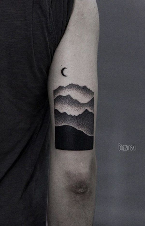 40 süße Mountain Tattoo Designs für jedermann