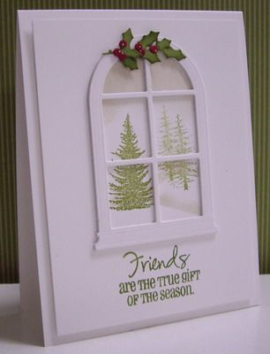 Winter Wonderland for Nancy by Loll Thompson - Cards and Paper Crafts at Splitcoaststampers