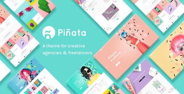 Piñata - A Fun, Vibrant Theme for Creative Agencies & Freelancers