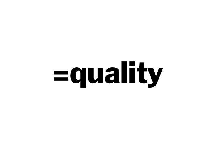 Equality logo by Mads Jakob Poulsen