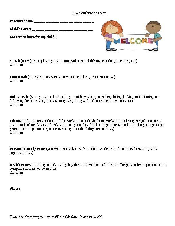 parent teacher conference tips, parent teacher conference signs, parent teacher conference notes, parent teacher conference packet, conference forms, conference sign in sheet,