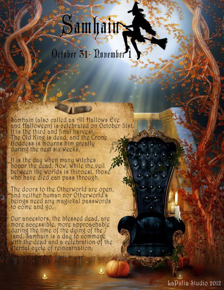 Samhain/ October 31-November 1st