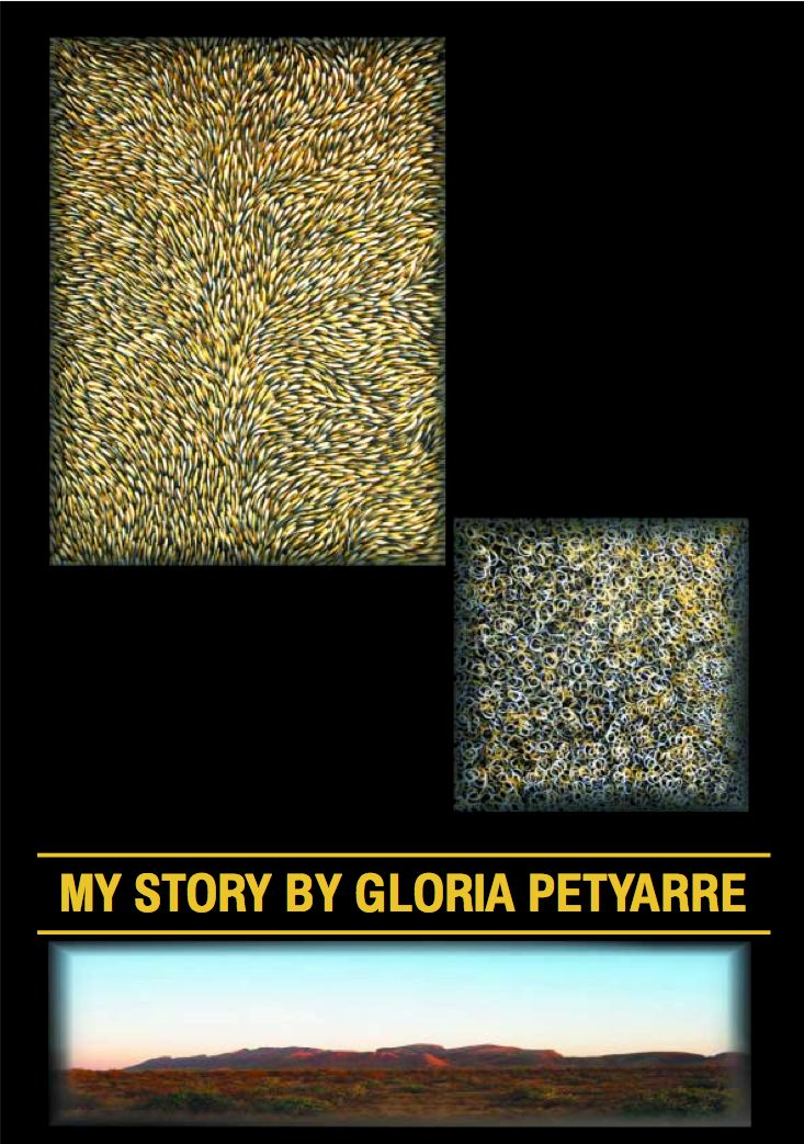 My Story, Gloria Petyarre Exhibition with redrock gallery