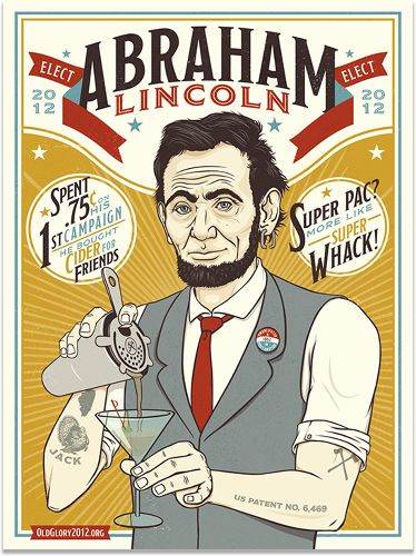 "Awesome ""Presidential Posters"" from RONLEWHORN INDUSTRIES."