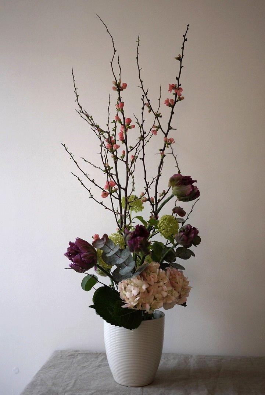 Les 69 meilleures images propos de wafuka sur pinterest prunus chats et paris for Arrangement floral artificiel