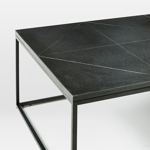 Deon Industrial Style Pattern Metal Rectangle Coffee Table: 25+ Best Ideas About Granite Coffee Table On Pinterest