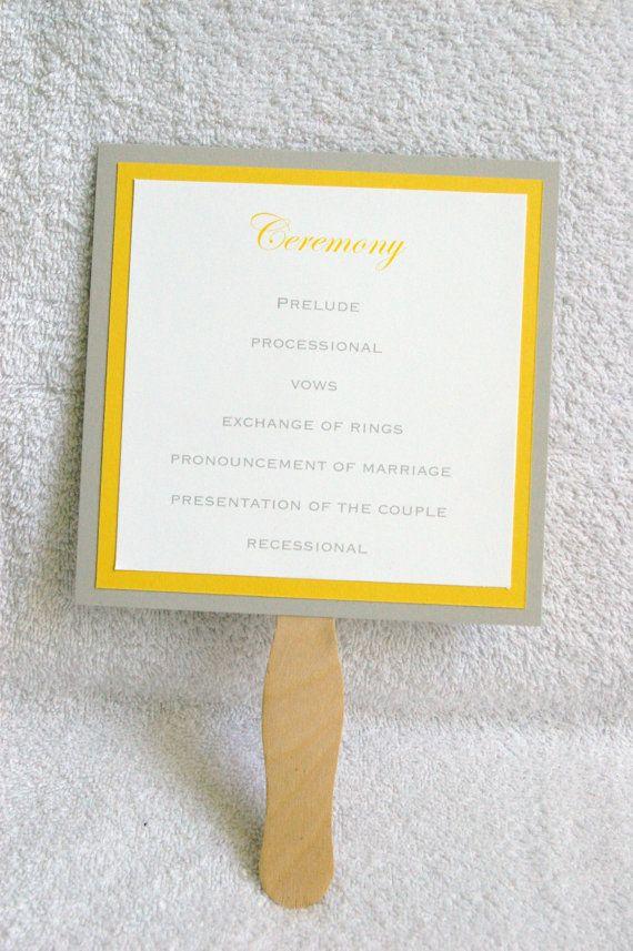 DIY 6 x 6 Paddle Fan Wedding by nonameproducts on Etsy, $1.50