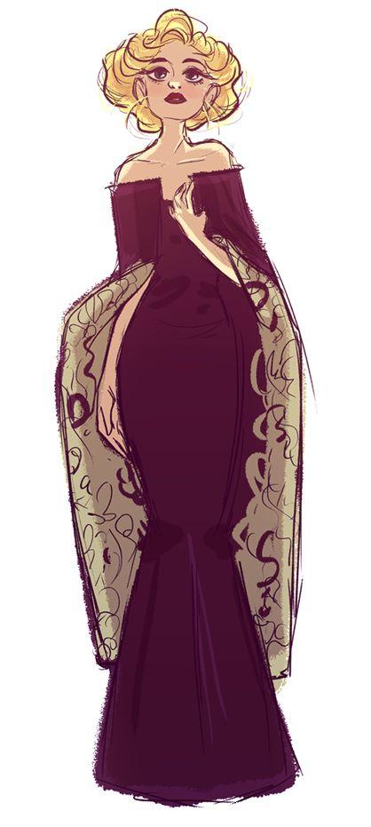 Verônica (seus cabelos deveriam ser pretos e seus olhos castanhos)