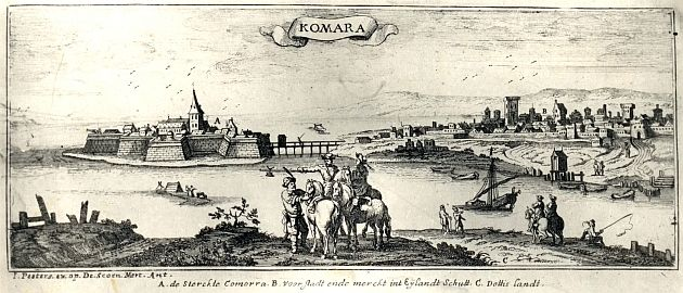 1684, Komárno based on older work