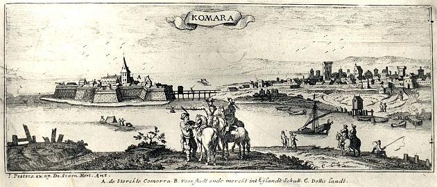 1684, Komárno based on older work