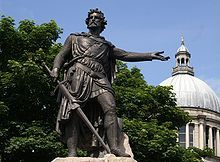 Sir William Wallace (Medieval Gaelic: Uilliam Uallas; modern Scottish Gaelic: Uilleam Uallas; Norman French: William le Waleys;[1] died 23 August 1305) was a Scottish Noble and landowner who became one of the main leaders during the Wars of Scottish Independence.[2]