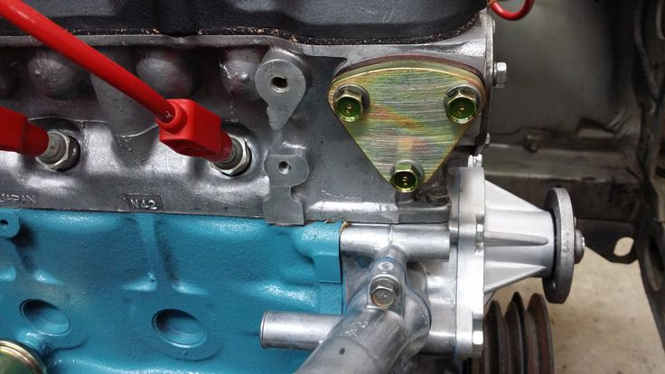 Permanently removed the mechanical fuel pump.  Installing an aftermarket Holley fuel pump.