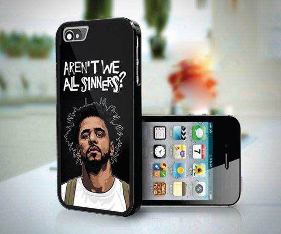 New J Cole Black Carbon Quote Sinner Custom Case Print For iPhone 6 6s 7 7Plus #UnbrandedGeneric