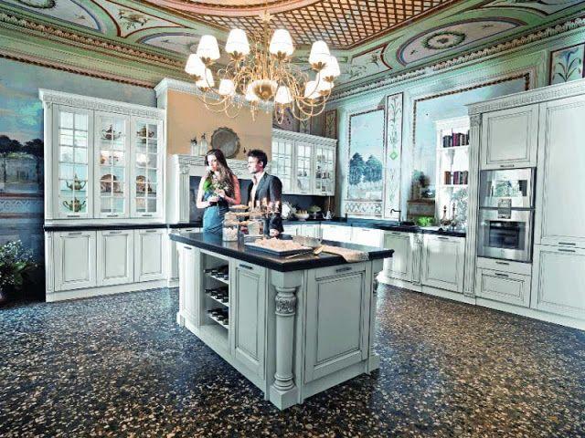 дневник дизайнера: Роскошный дизайн кухни в классическом стиле Old Li...