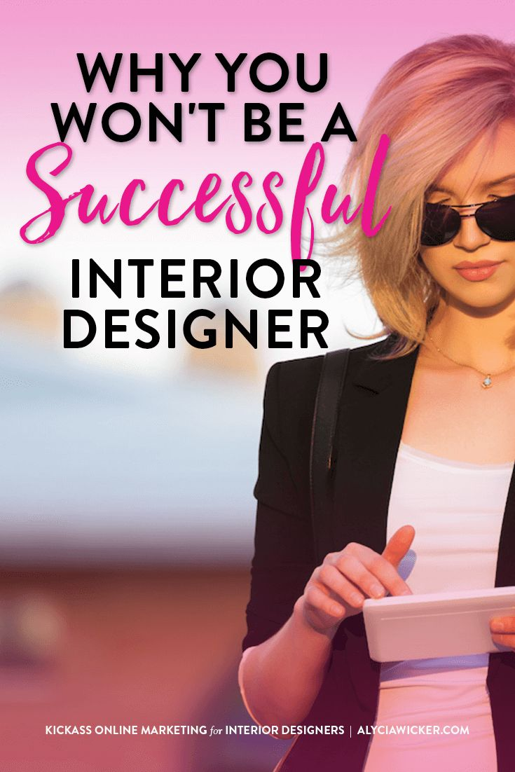 If you're struggling to grow your interior design business it could be because you're having an issue with one of these items.