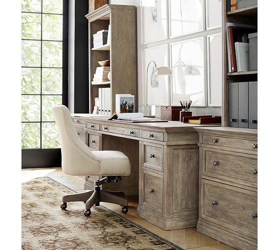 large desks for home office. livingston large desk pottery barn home office desks for r