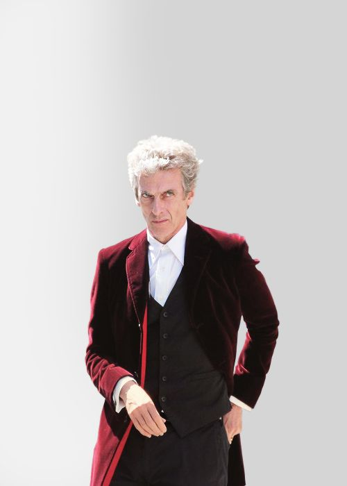 Peter Capaldi on the set (June 10, 2015)