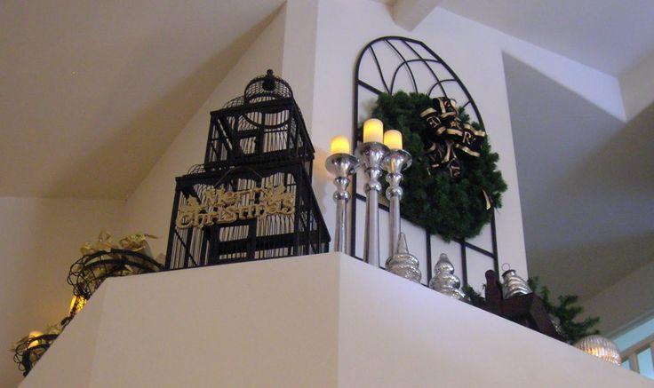 Decorate a plant ledge