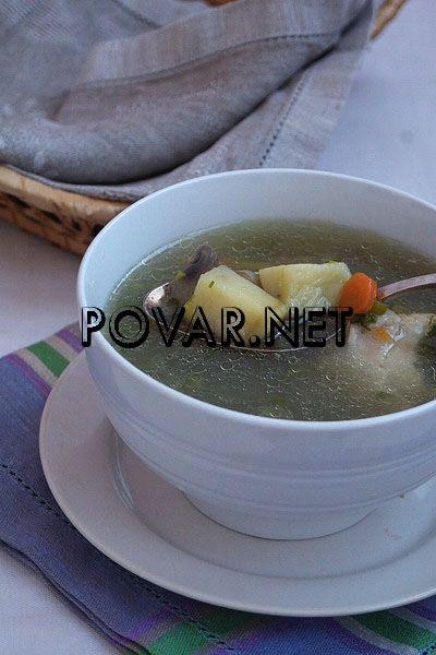 Рецепт грибного супа из замороженных белых грибов