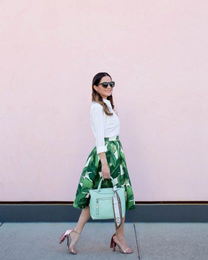 Ένα 50s outfit εμπνευσμένο από το Palm Spring #ShopTheLook | μοδα , shopping ideas | ELLE