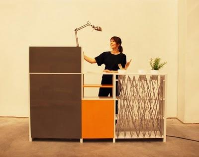 Designer Saara Renvall pimped her Lundia