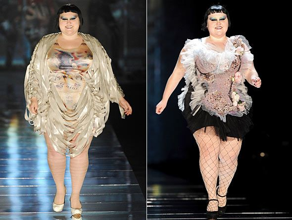beth-ditto-modeling-for-jean-paul-gaultier