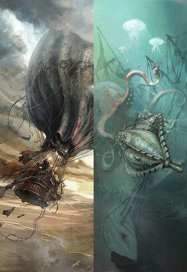 Jules Verne on Behance