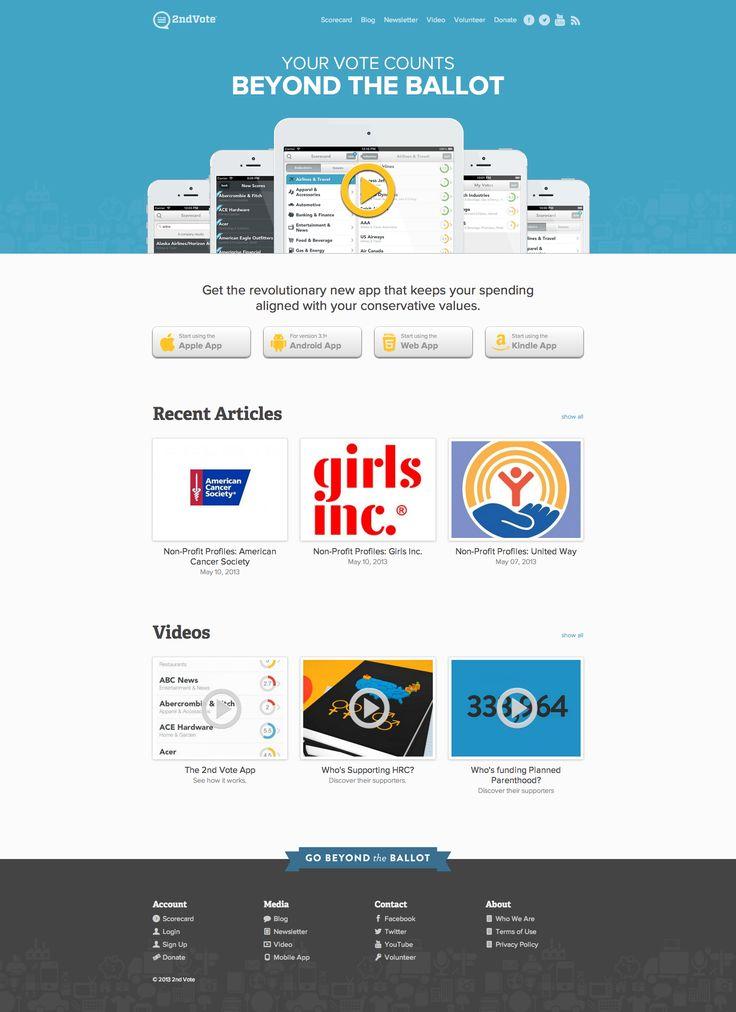 2ndvote - App Site