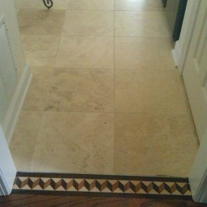 Ceramic Tile Floor To Wall Transition