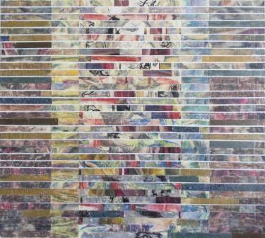 "Saatchi Art Artist Maia S Oprea; Painting, ""TRANSMOGRAPHY 4"" #art, http://www.saatchiart.com/art/Painting-TRANSMOGRAPHY-4/43191/2644687/view #meditation #silence #window"