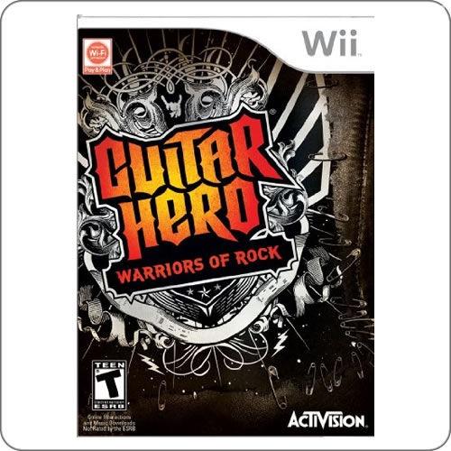 Wii Guitar Hero Warriors of Rock R$114.90