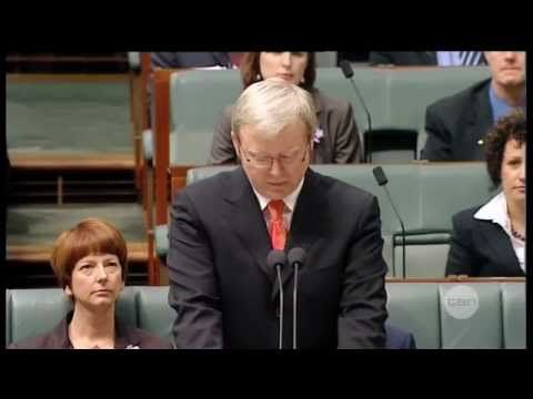 ▶ On this day | 13th February 2008 | Kevin Rudd apologises to Australia's stolen generations - YouTube