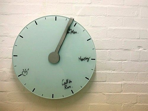 Video: Trace of Time clock erases tasks as deadlines pass -- Engadget
