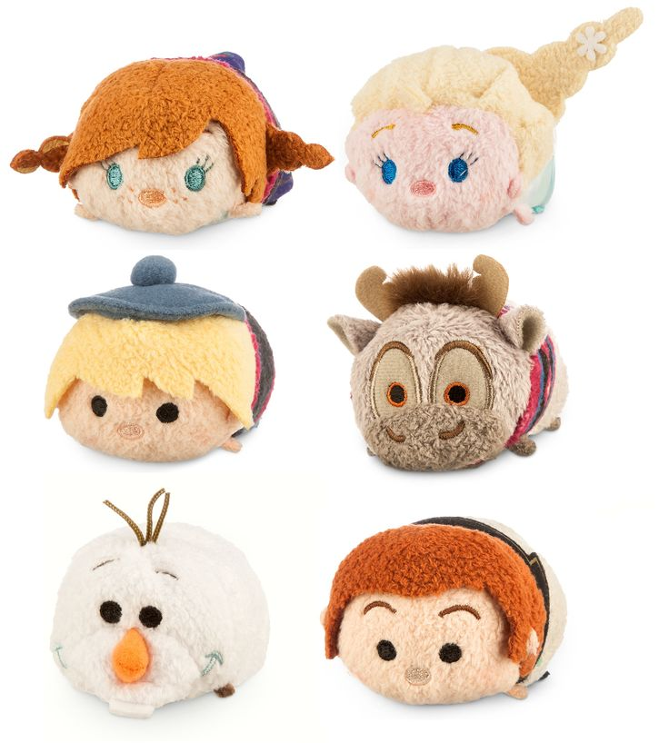 Frozen set of Tsum tsums will be released on March 3 2015 at the Disney Stores in North America