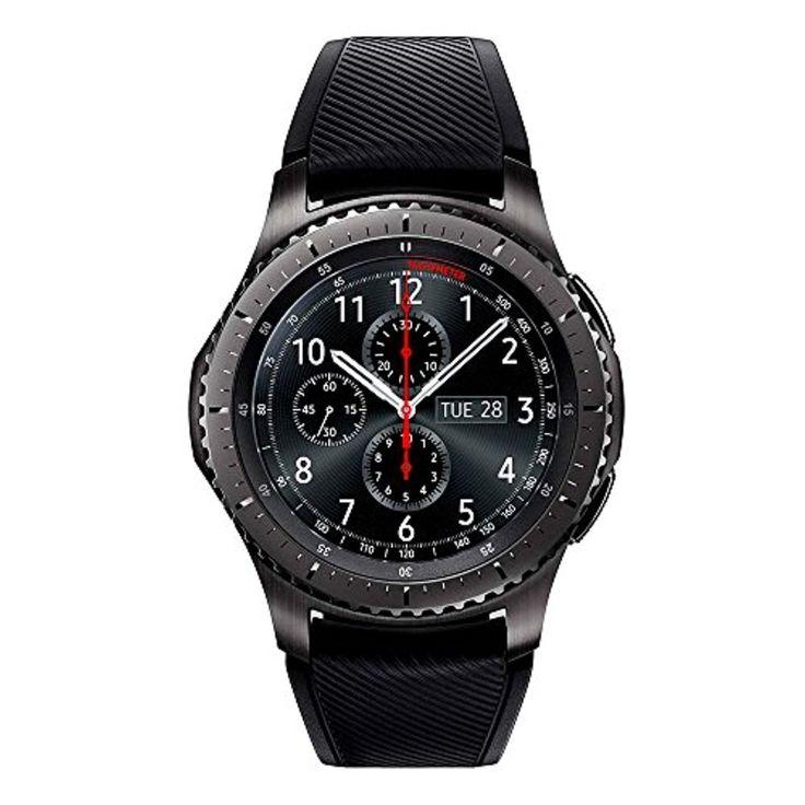 Samsung - SM-R760 - Gear S3 Frontier - Montre connectée -  Analogique - Gris Foncé 2017 #2017, #Montresbracelet http://montre-luxe-homme.fr/samsung-sm-r760-gear-s3-frontier-montre-connectee-analogique-gris-fonce-2017/