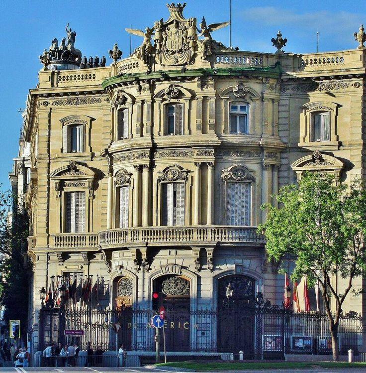 Palacio de linares casa de am rica madrid pinterest for Casa america madrid