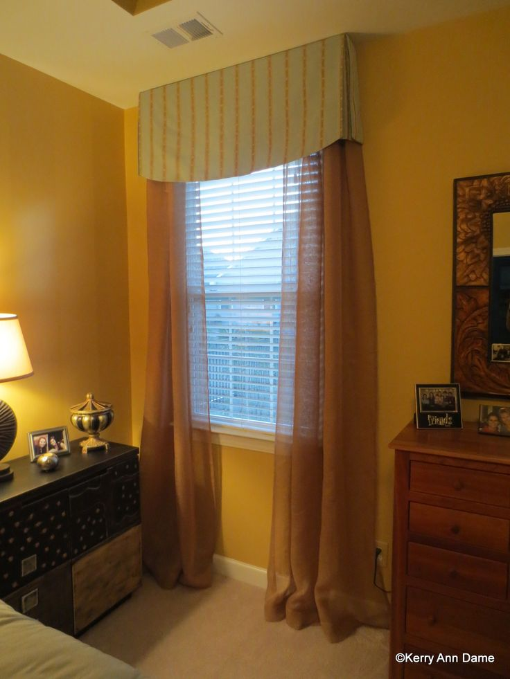 Tailored Modern Bedroom Sheers Valance Designs Pinterest Window Treatments Modern And Window
