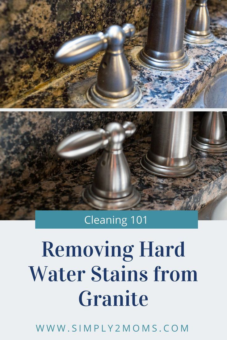 Removing Hard Water Stains From Granite Hard Water Stain Remover