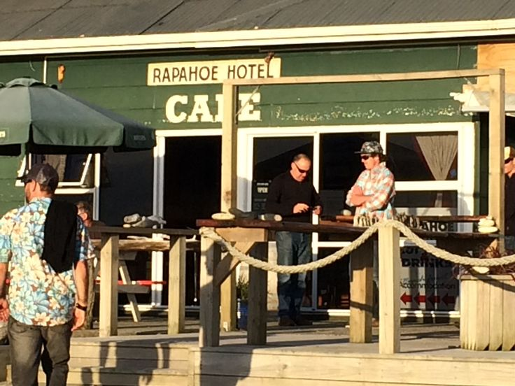 Classic New Zealand pub on the West Coast - right across the road from the sea!
