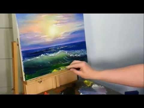 живопись маслом уроки художник южаков новое! - YouTube