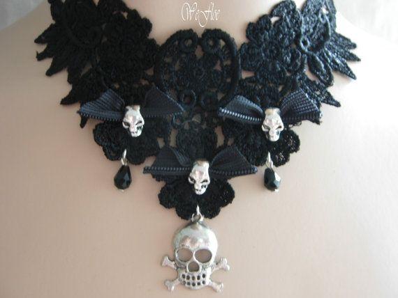Victorian Necklace Gothic Jewelry Costume par stylbruchdesign, €22.90
