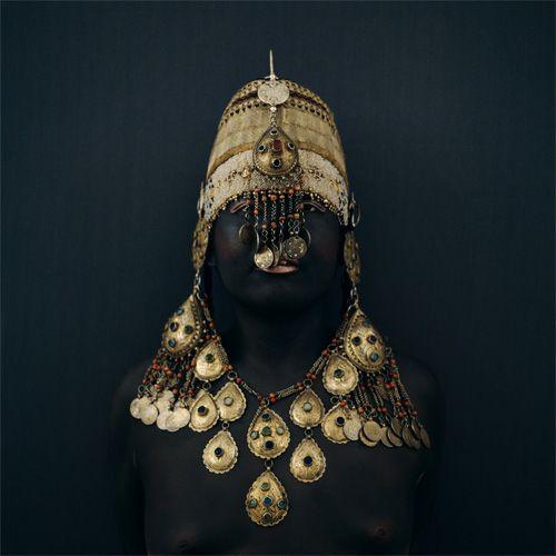 43is The Golden Bride from Fez, Self-portrait, 2005; (via acheiropoietos)