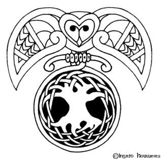 NawtyGurl.com - Sinkin Ink Summore  Other Whatnotz/celtic owl  tree of life